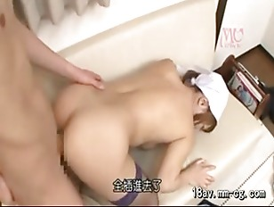 Picture Horny Jap Maid Love Couch Sex