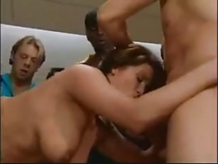 Christy Parks in The gangbang