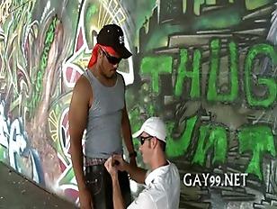 Black & white gay fucking