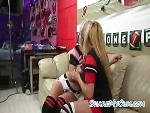 Picture Lezzy Cheerleaders Show Team Cocksucking Spi...
