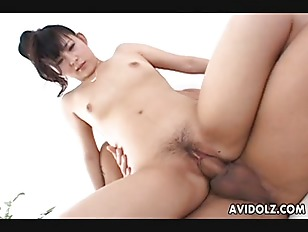 Asian cuttie pie getting fucked deep in her sweet coochie