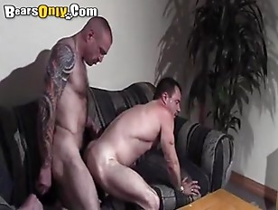 Muscle Bound Daddy Fucks Doggy