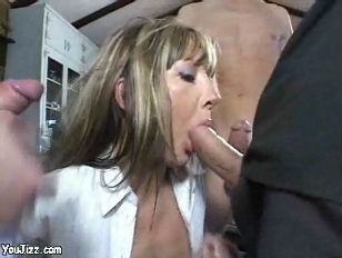 Bunch of dicks in one mouth