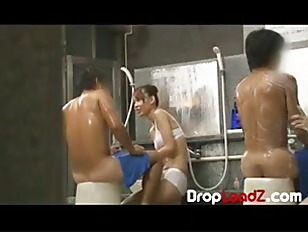 Obscene Sex Scene in Japan Spa