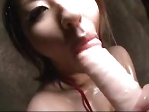 Picture RIKO NISHIKAWA Riding Her Dildo