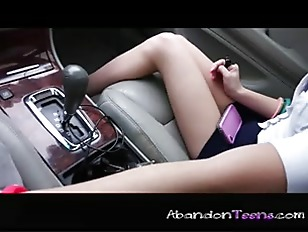 Picture Southern Young Girl 18+ Fucks In The Car P2