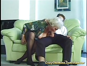 Old busty mom is extreme horny