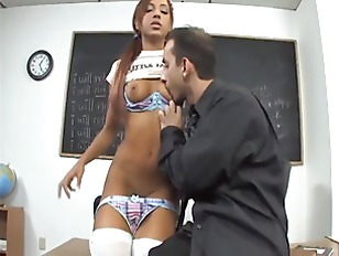 Picture Pigtailed Ethnic Young Girl 18+ Fucked On De...