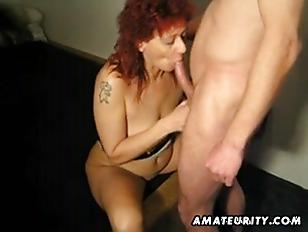 Mature redhead amateur