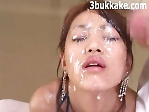 Big asian bukkake