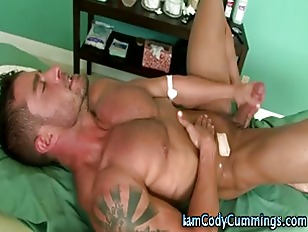 Muscle Cody Cummings blowjob c