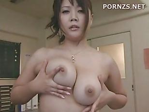 Busty asian fuck