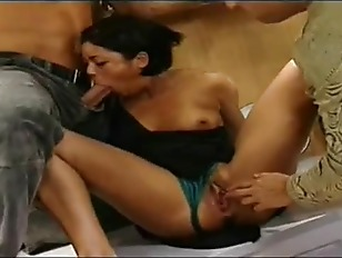 Picture Hot Double Penetration With French Bitch
