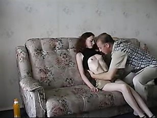 Amateur father and daughter