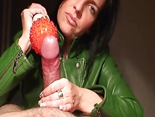 Harsh handjob