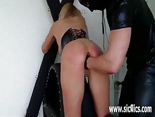 Horny slave girls fist fucked