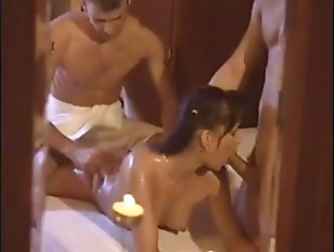 Massage turns into bisexual th