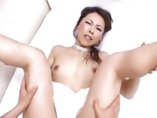 Asian MILF sucks and fucks