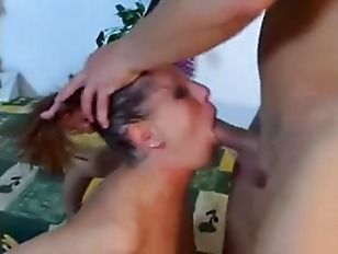 Facefucked hard