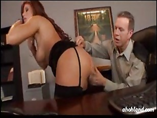 Girl Gets Busted in the office