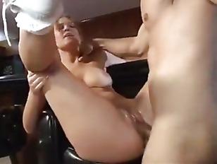 Teen fucks older man