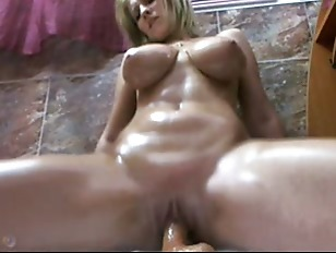 Picture Busty Blonde Toying In The Shower