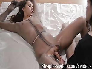 Fetish ballerina fucks her dol