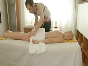 Picture Blonde Get Special Service When Massage