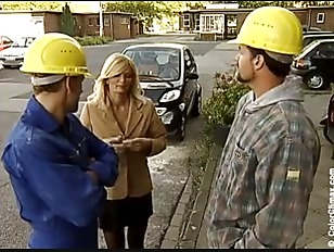 Picture German Mom And Construction Workers