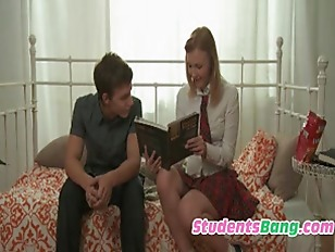 Picture Young Girl 18+ Seducing His Classmate