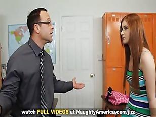 Redhead coed Ava Sparxxx fucki