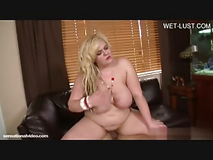 Picture Blonde Fatty Love Couch Sex
