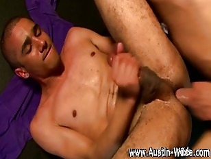 Hairy Austin Wilde spurts