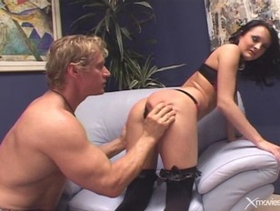 Picture Alektra Blue Gets A Spanking And Facial