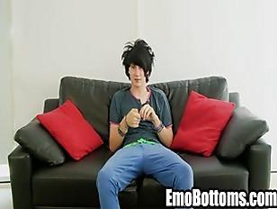 Horny emo twink Alex Horler pl