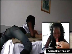 True african slut gets her cho