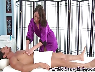 Sexy masseuse babe massages cl