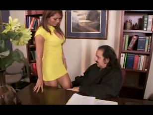 Ron Jeremy gets lucky