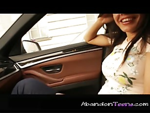 Picture Back Seat Anal
