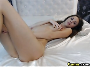 Tight Pink Pussy Fingering Closeup