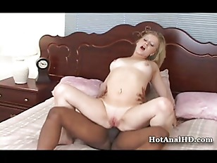 Blondie zoie takes a bbc up her tiny asshole 2