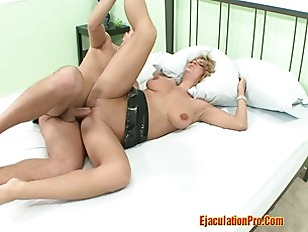 Hot Blonde Alexis Do A Tit Fuc