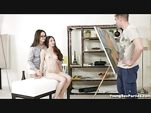 Picture Young Sex Parties - Painter Fucks His Young...