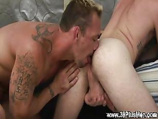 Hot stiff throbbing cock