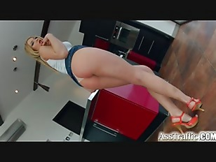 Picture Ass Traffic Sexy Blonde Enjoys A Dick In Her...