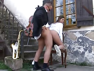 Teacher fuck schoolgirl in uniform