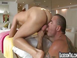 Older guy takes advantage of y