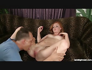 Sexy Redhead Just Turned 18 An