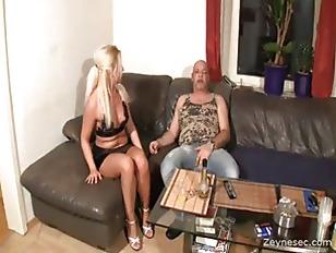 German slut drinks his cum Tags