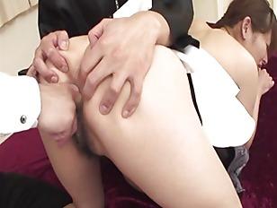 Shy japan milf haruko ogura pussy teased
